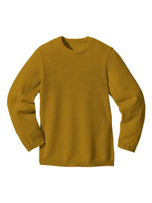 Disana Kids Jumper Organic Merino Wool - Gold