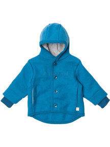 Disana Baby Jacket Organic Boiled Wool - Blue