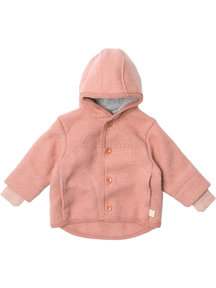 Disana Baby Jacket Organic Boiled Wool - Rose