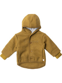 Disana Baby Jacket Organic Boiled Wool - Gold