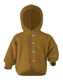 Engel Natur Wool Fleece Jacket - Saffron