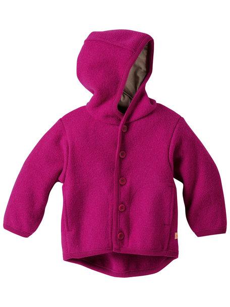 Disana Baby Jacket Organic Boiled Wool - Pink