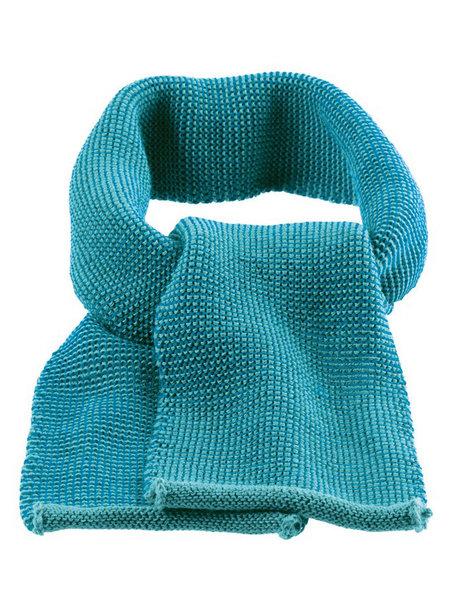 Disana Scarf Organic Merino Wool - Lagoon
