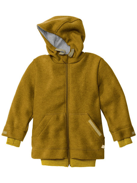 Disana Outdoor Jacket Boiled Wool - Gold