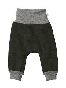 Disana Boiled wool trousers - anthracite