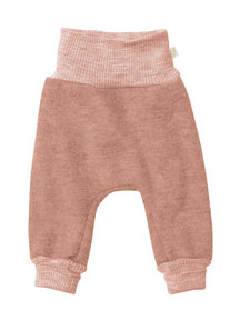 Disana Boiled wool trousers - pink