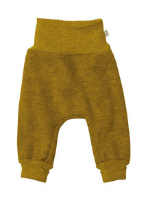 Disana Boiled wool trousers - gold
