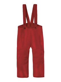 Disana Dungarees Boiled Wool - Bordeaux