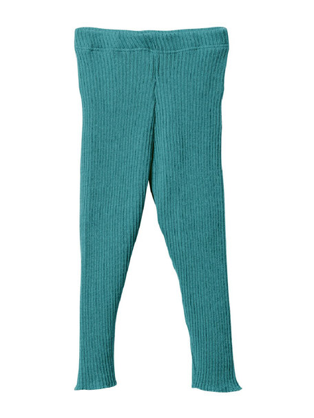 Disana Leggings Organic Wool - Lagoon