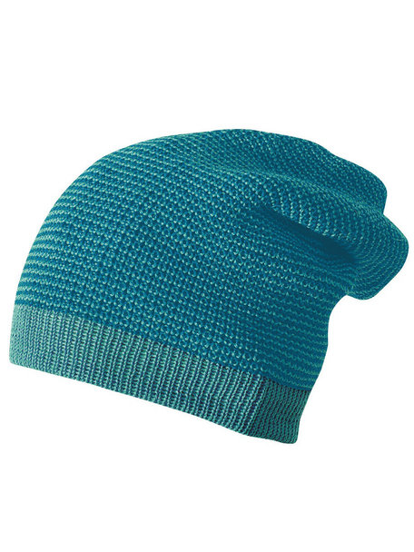 Disana Beanie Long Organic Wool - Lagoon