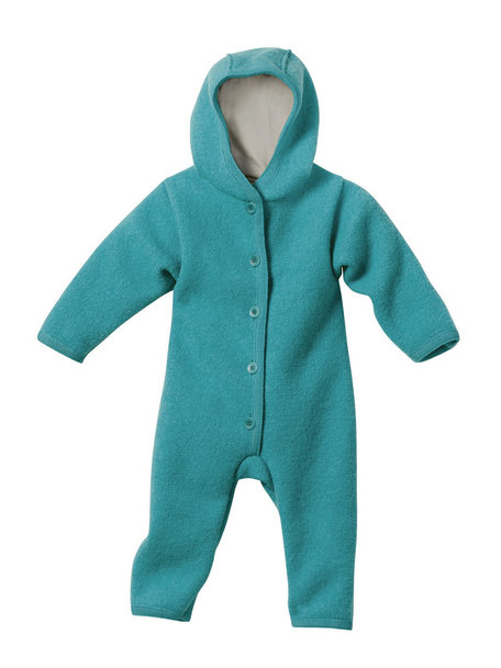 Disana Baby Overall Boiled Wool - Lagoon