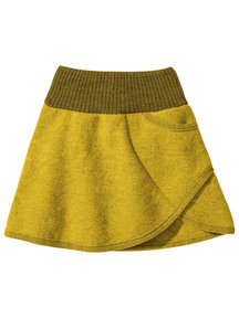 Disana Skirt Boiled Wool - Curry/Gold