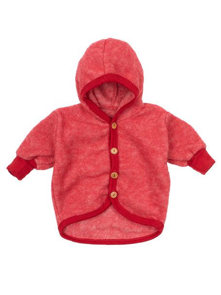 Cosilana Baby Jacket  Wool Fleece - Red
