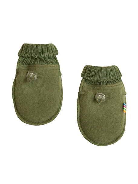 Joha Wool Fleece Mittens - olive  (Limited Edition)