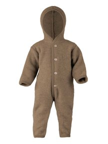 Engel Natur Overall Wool Fleece - Walnut