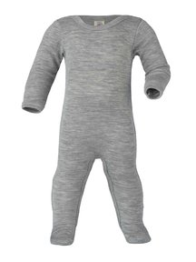 Engel Natur Sleep Overall Wool/Silk - Grey