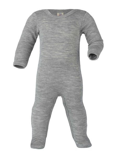 Engel Natur Sleep Overall Wool / Silk - Grey