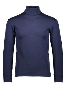 Ruskovilla Turtleneck unisex merino wool - blue