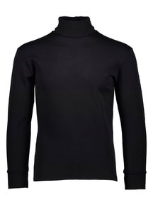 Ruskovilla Turtleneck unisex merino wool - black