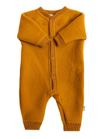 Joha Wool Fleece Jumpsuit - ochre (Limited Edition)