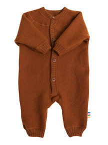 Joha Wool Fleece Jumpsuit - rust (Limited Edition)