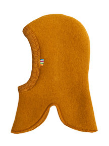 Joha Wool Fleece Balaclava - ochre (Limited Edition)