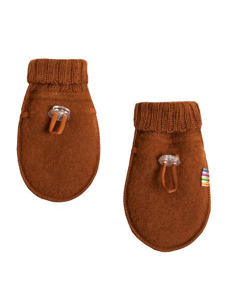 Joha Wool Fleece Mittens - rust (Limited Edition)
