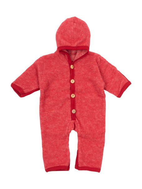 Cosilana Baby Overall Wool Fleece - Red