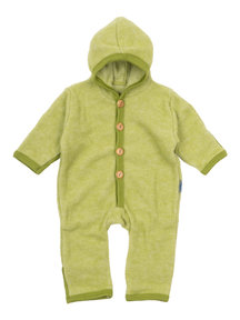Cosilana Baby Overall Wool Fleece - Green