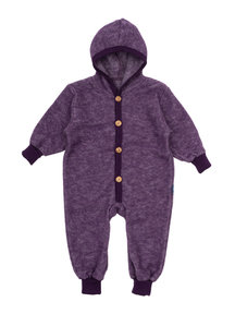 Cosilana Baby Overall Wool Fleece - Purple