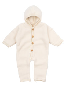 Cosilana Wool Fleece Overalls  - natural