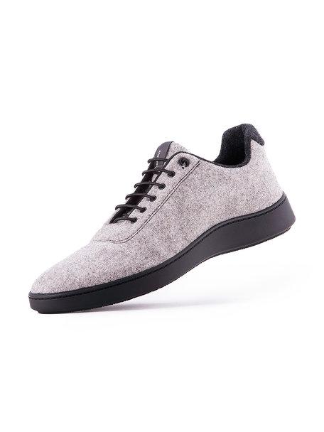 Baabuk Urban wooler unisex - grey