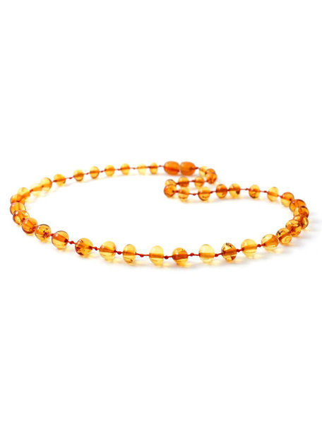 Amber Amber Baby Necklace  32 cm - Dark Honey