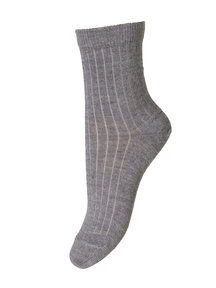 MP Denmark Wool Rib Socks - Grey