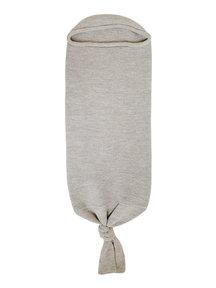 Hvid Cocoon - grey melange