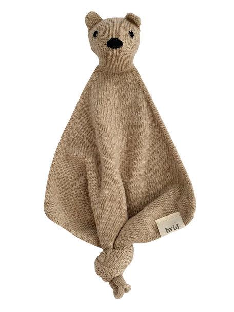 Hvid Teddy Tokki Cuddle Cloth - Sand