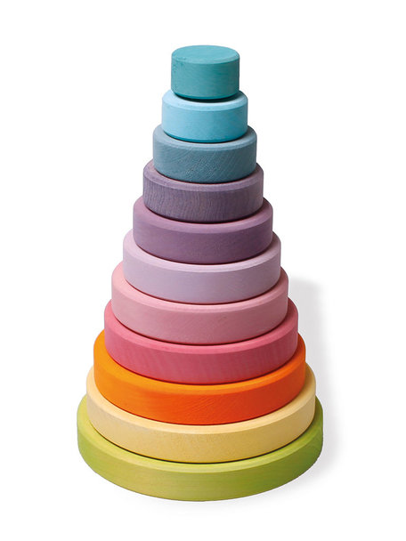 Grimm's Stacking Tower - Pastel