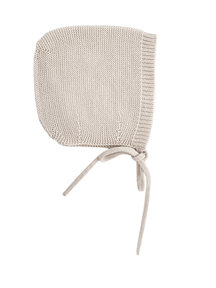 Hvid Merino Wool Bonnet - off white