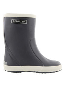 Bergstein Rainboots natural rubber - dark grey
