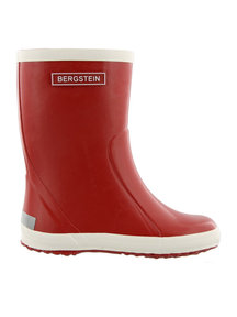 Bergstein Rainboots natural rubber - red