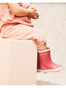 Bergstein Rainboots natural rubber - pink