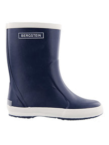 Bergstein Rainboots natural rubber - dark blue