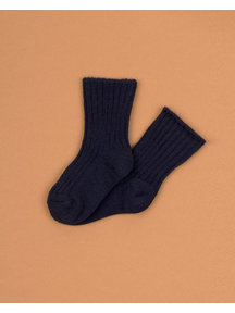 Joha Wool children's socks - navy