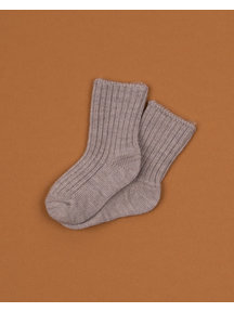 Joha Wool children's socks - sesame