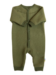 Joha Wool Fleece Jumpsuit - olive (Limited Edition)