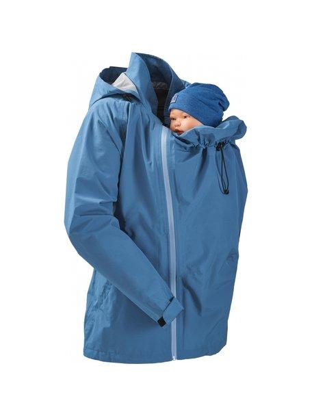 Mamalila Rain Jacket for Babywearing - vintage blue