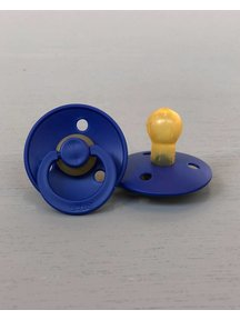Bibs Pacifier Natural Rubber - Navy