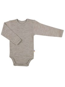 Joha Body with long sleeves - Sesame