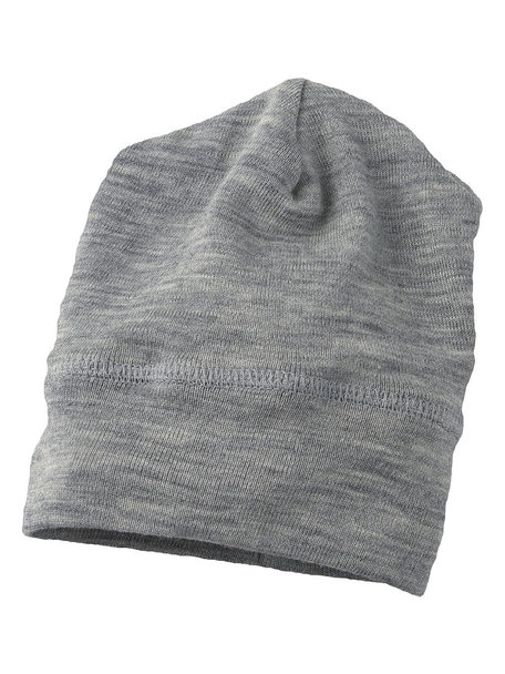 Engel Natur Beanie wool/silk - Grey