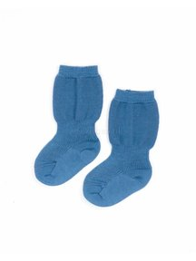 Grödo Baby Socks Wool - Mountain Blue